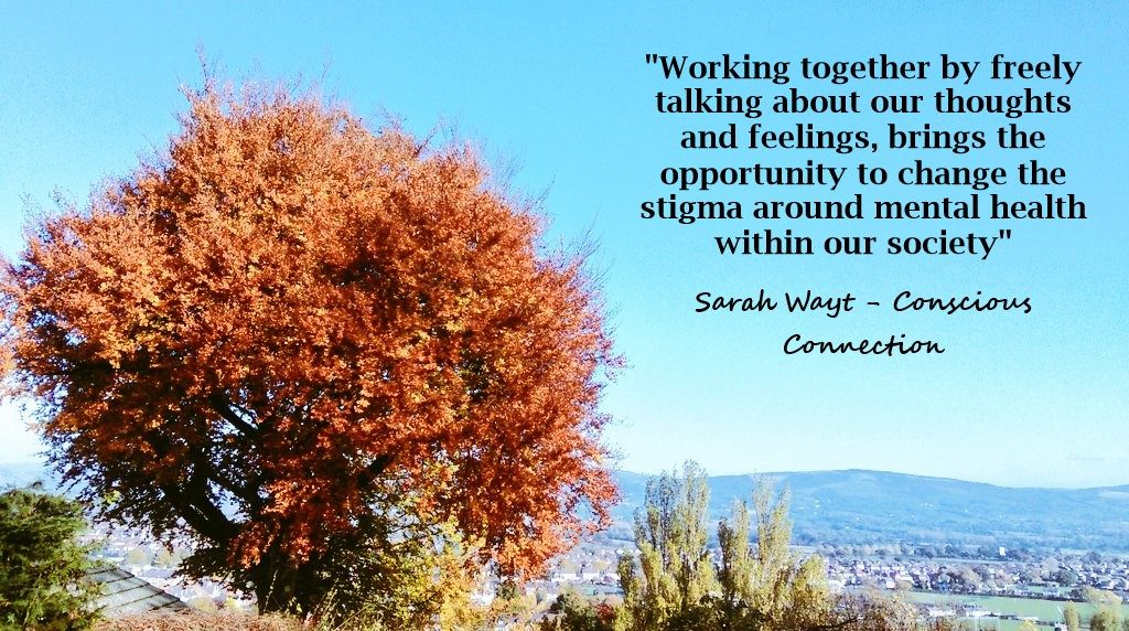 working together by freely talking about out thoughts and feelings