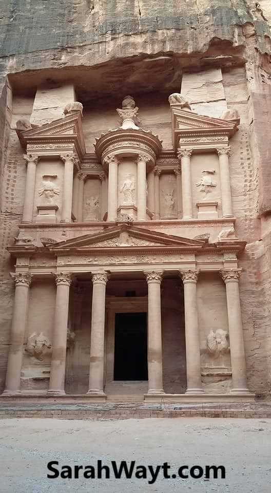 The treasury at Petra my main reason for going on a Jordanian journey
