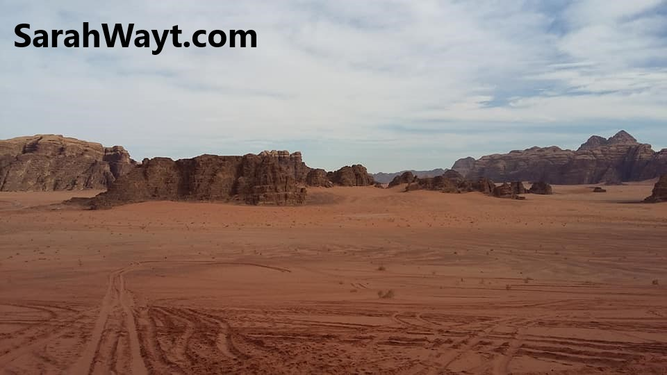 Wadi Rum dessert, where they filmed The Martian
