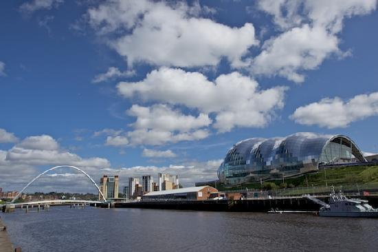 A walk along the quayside in Gateshead with my granddaughter was the perfect way to enjoy intergenerational connection