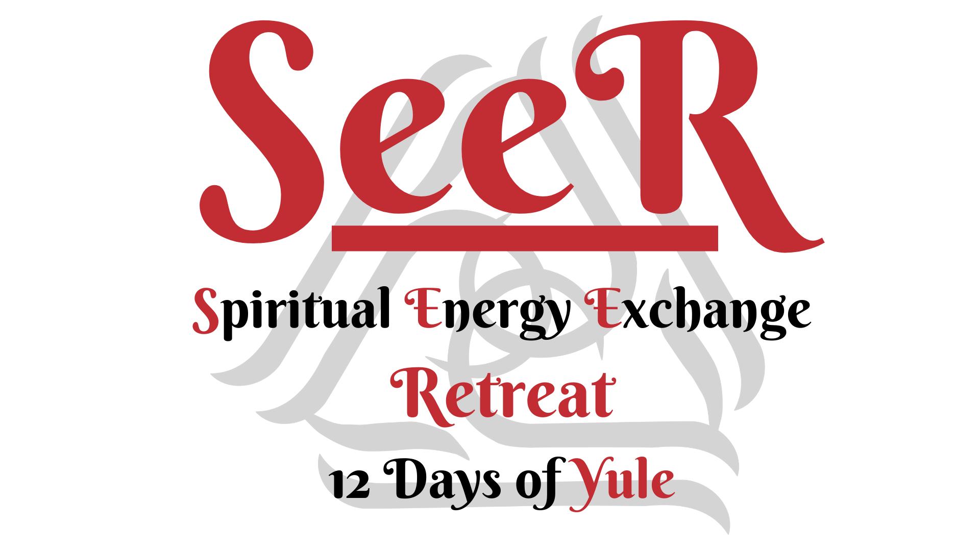 SeeR Spiritual Energy Exchange Retreat in South West Scotland