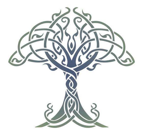 celtic symbols tree
