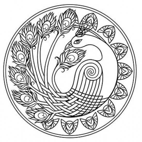 Celtic symbolism peacock