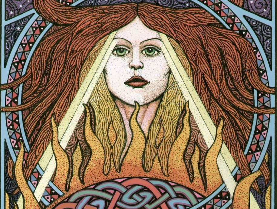 Celtic Brigid goddess of healing