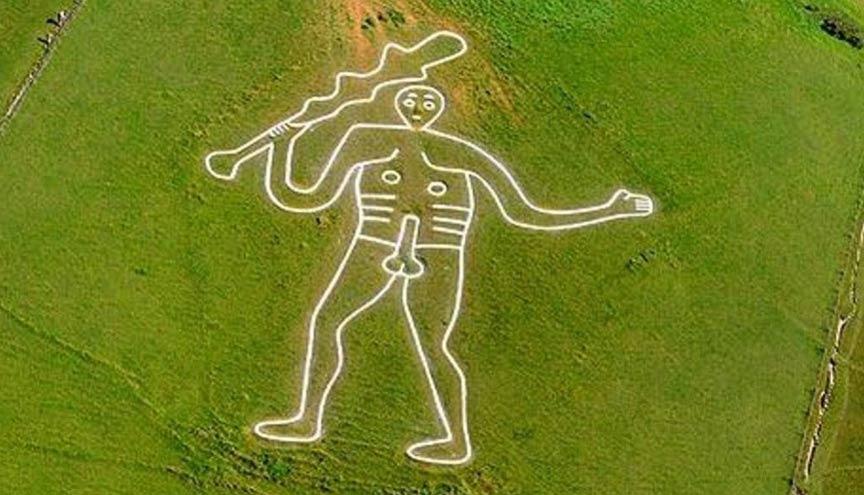 Cerne Abbas Giant Celtic symbol