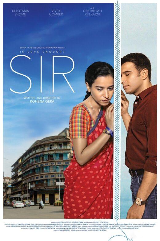 Sir 2020 - Film Poster