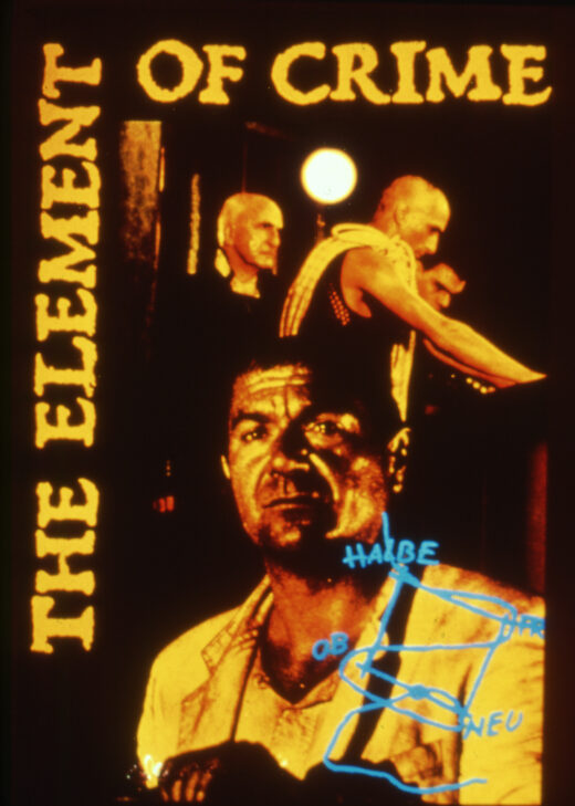 The Element of Crime 1984 film poster