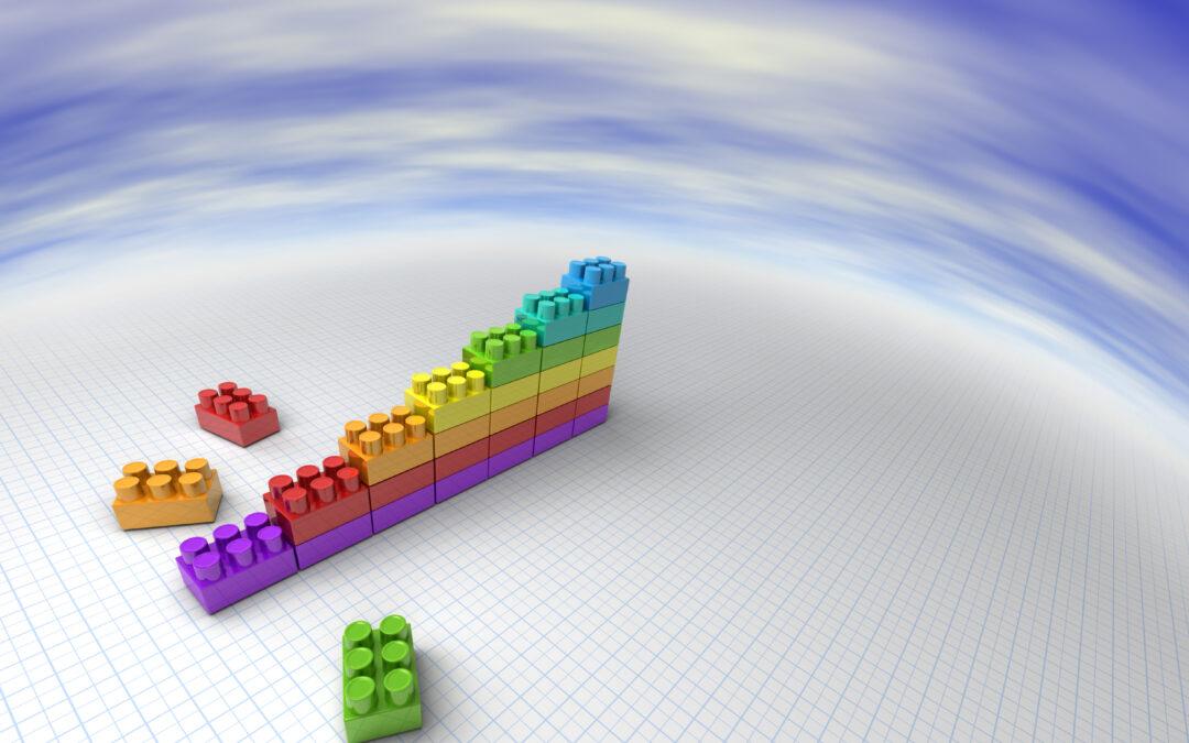 Dataa ja Lego-palikoita
