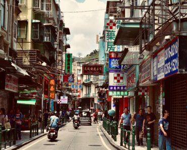 Hong Kong and Macau in 6 days.