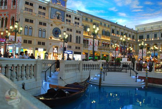 Inside Venetian, Macau