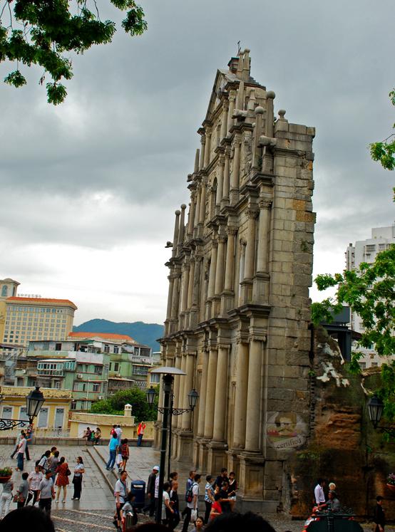 St Pauls Church, Macau