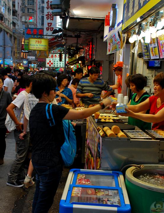 A Local food joint, Hong Kong