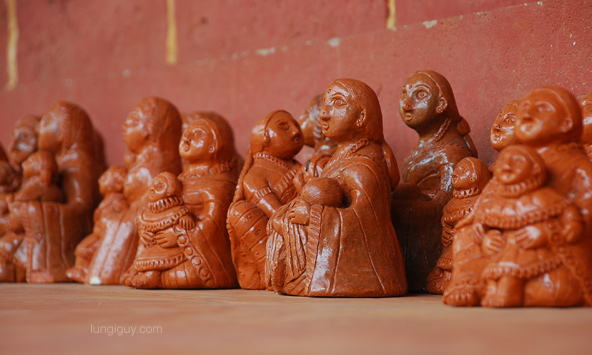 Clay figurines