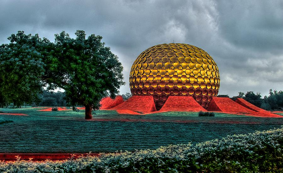 Auroville, Puducherry. Next post.