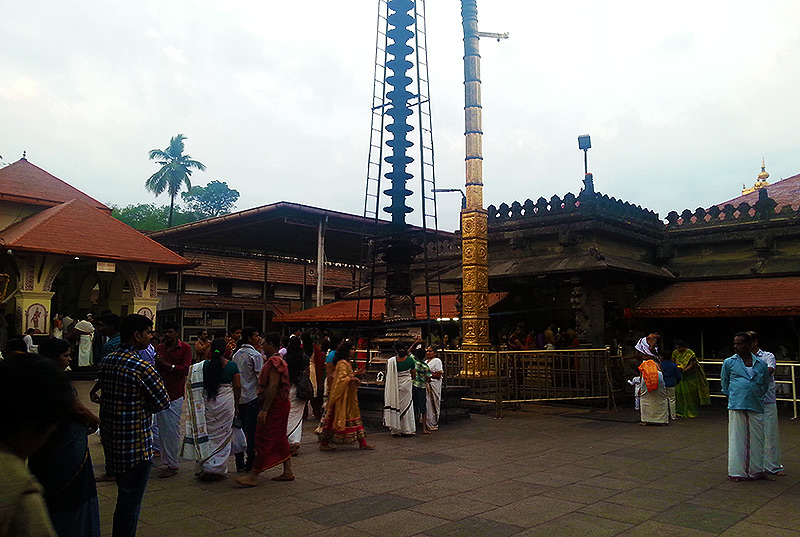 Kollur Mookambika: One night, and the next morning
