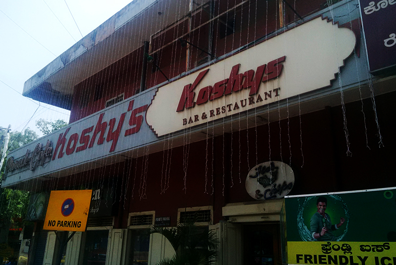 Koshy's, Bangalore: What's the fuss all about?