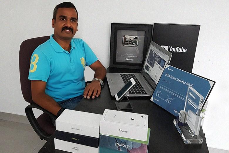 My professional blogger friend Nirmal