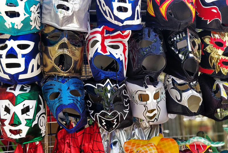 A Lucha libre (Mexican wrestling) experience