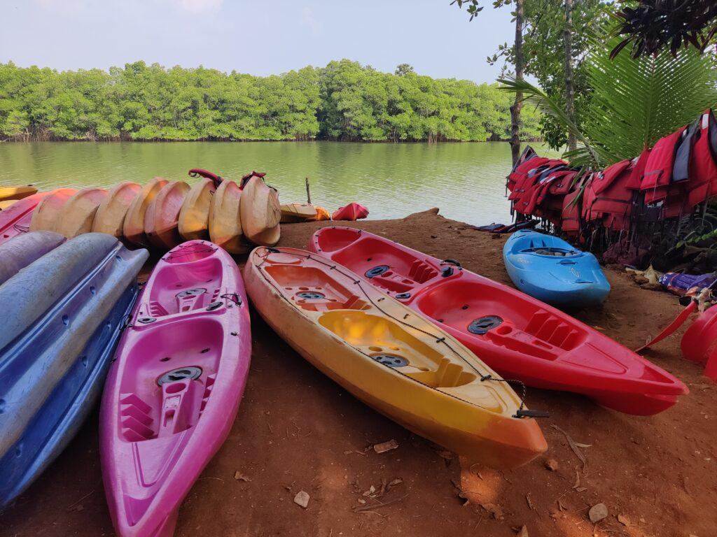 Kayaking in Mangalore