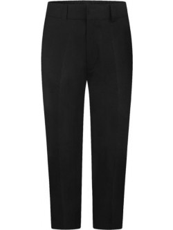 Boys Black Sturdy Fit Trousers