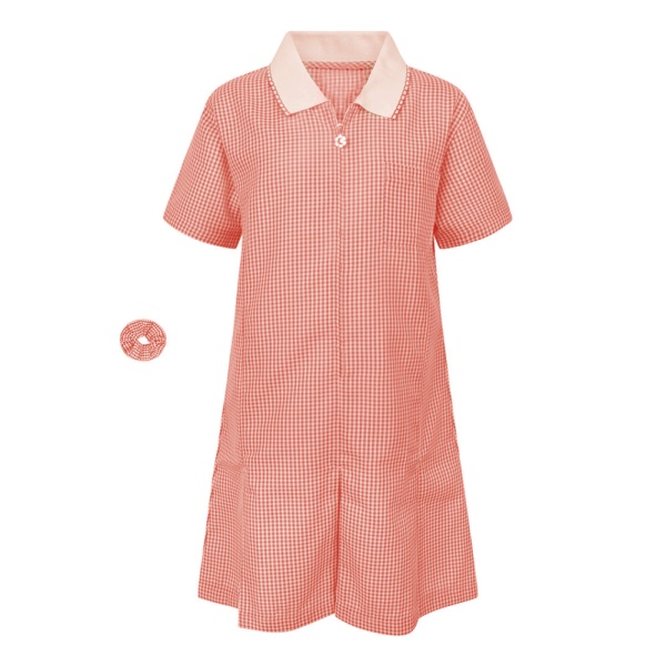 K.I.S Girls Gingham Summer Dress