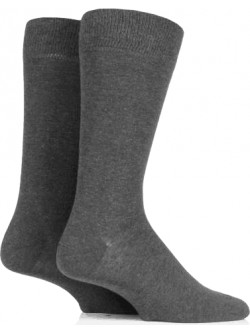 K.I.S Cotton Rich Socks (Twin Pack)
