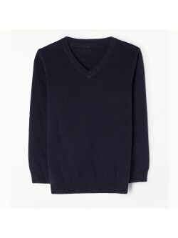 Parmiter's V-Neck Knitted Jumper