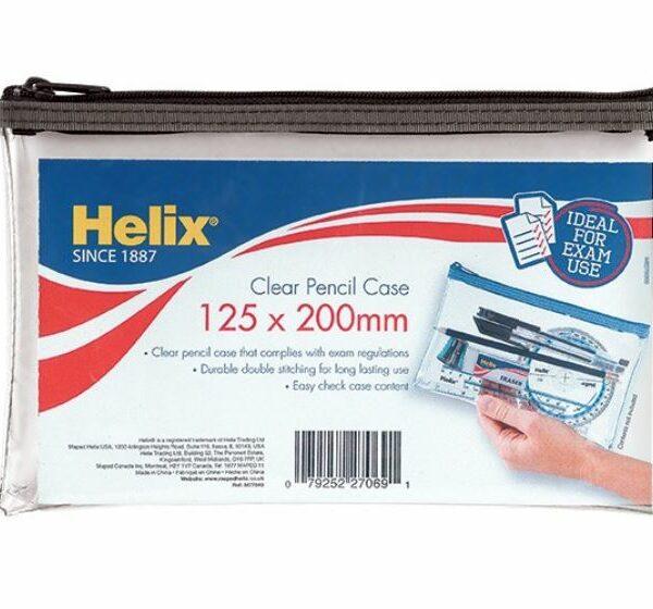 Clear Pencil Case (8″x5″)