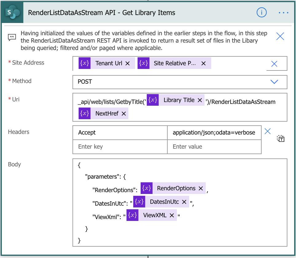 SharePoint_MSM_RenderListDataAsStream-Get-Library-Items
