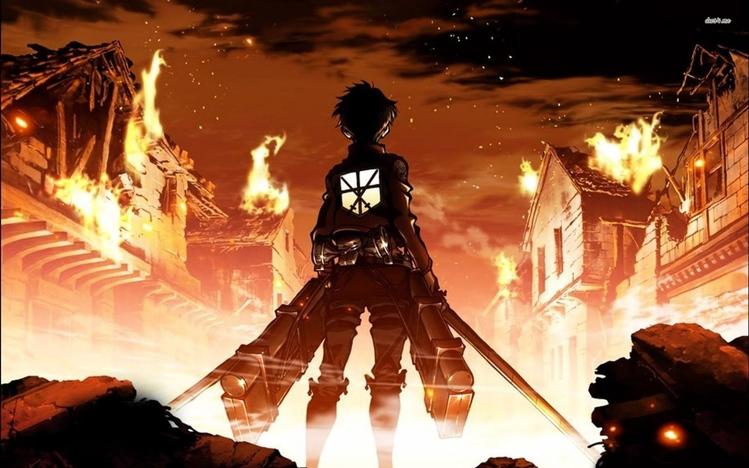 รีวิวอนิเมะ : Attack on Titan ผ่าพิภพไททัน : เมื่อโลกนี้ไม่มีที่ให้อยู่สำหรับมนุษยชาติอีกต่อไป อ่านข่าวการ์ตูน อนิเมะ อนิเมะใหม่ มังงะ Attack on Titan