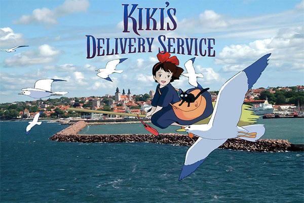 Kiki's Delivery Service เเม่มดน้อยกิกิ อ่านข่าวการ์ตูน อนิเมะ อนิเมะใหม่ มังงะ Kiki's Delivery Service