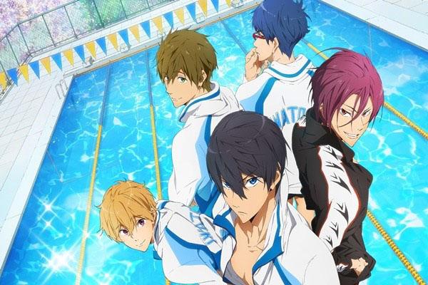 Free! อนิเมชั่นเกี่ยวกับกีฬาการว่ายน้ำที่สาว ๆ ไม่ควรพลาด อ่านข่าวการ์ตูน อนิเมะ อนิเมะใหม่ มังงะ Free!