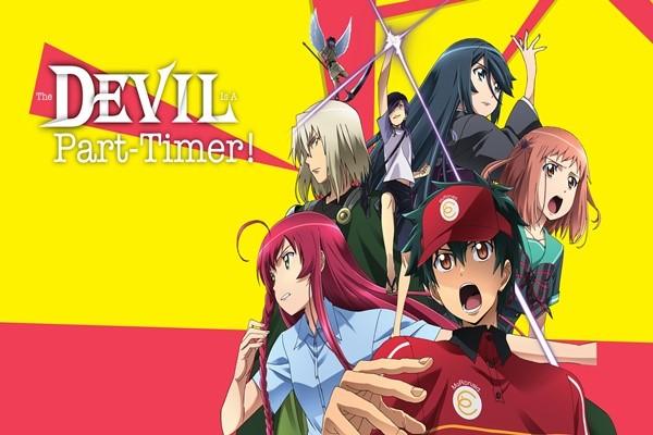 The Devil is a Part Timer อนิเมชั่นแฟนตาซีที่มาพร้อมกับมุกเกรียน ๆ มากมาย อ่านข่าวการ์ตูน อนิเมะ อนิเมะใหม่ มังงะ TheDevilisaPartTimer