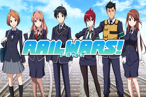 Rail Wars! อนิเมชั่นเกี่ยวกับการทำงานในสถานีรถไฟจากไลท์โนเวล อ่านข่าวการ์ตูน อนิเมะ อนิเมะใหม่ มังงะ RailWars!