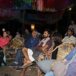 The rapt Goa audience