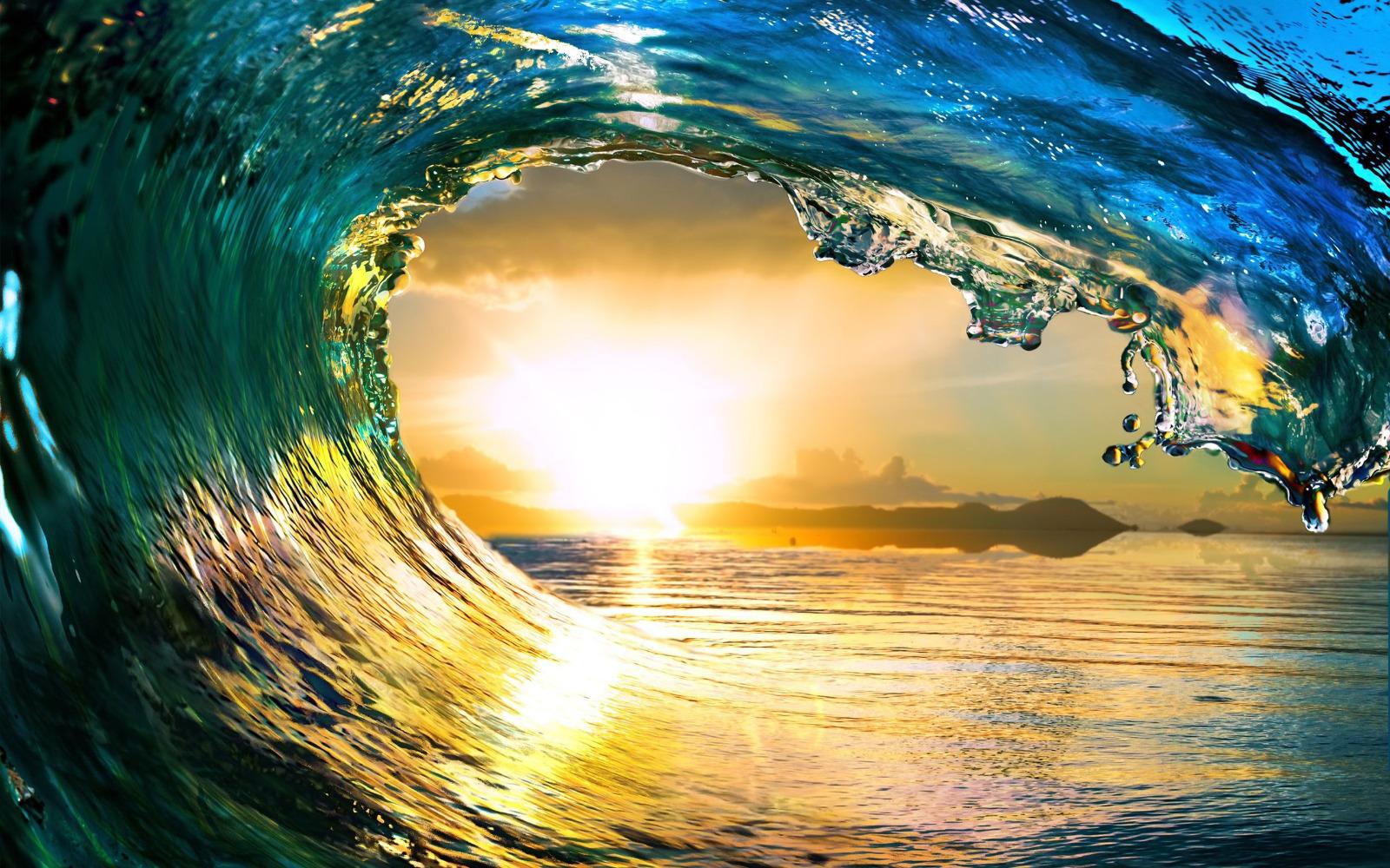 A pleasure wave climax