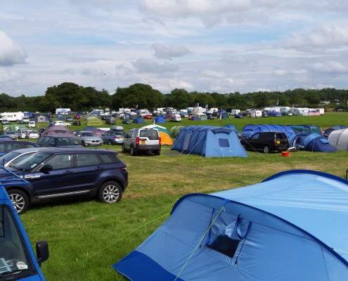 Campsite view 12