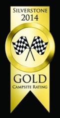 Campsite Ratings 2014 Gold Award