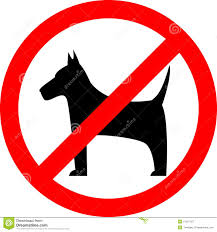 Strictly No Dogs or Pets Allowed