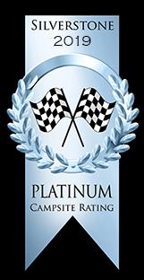 2019 Platinum Campsite Rating Award