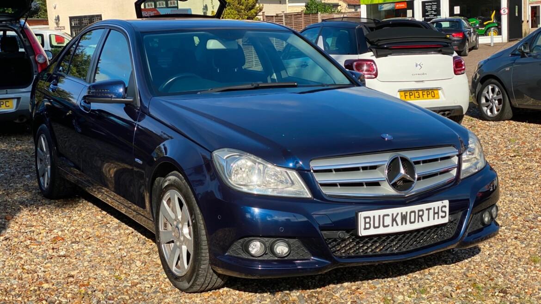 MERCEDES-BENZ, C CLASS 2011 (61) C220 CDI BlueEFFICIENCY SE 4dr Auto