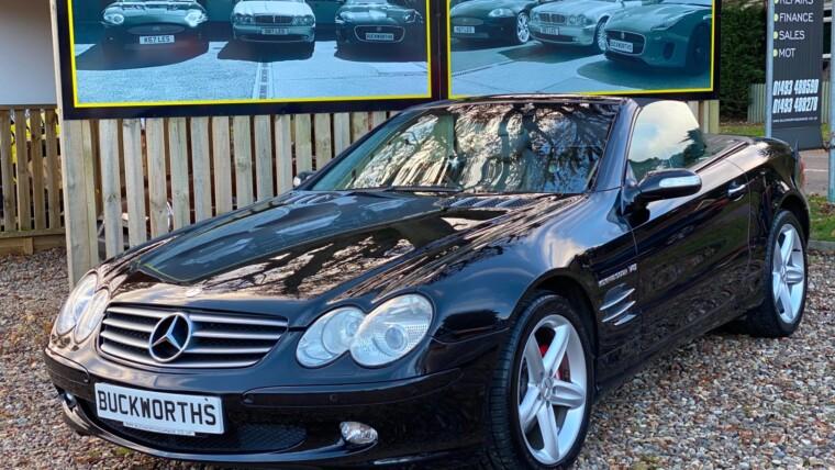 Mercedes SL500 V8 Automatic convertible