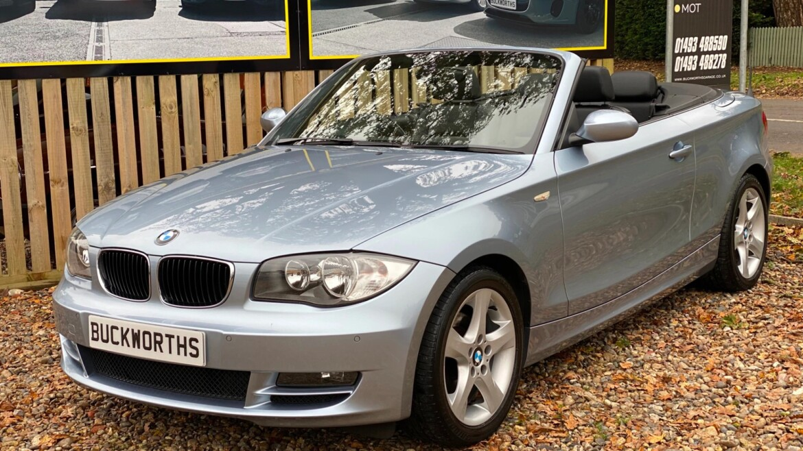BMW 1 SERIES 2008 (58) 118i SE 2dr Step Auto