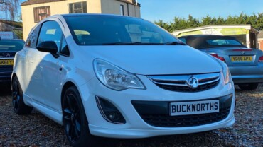 VAUXHALL CORSA 2012 (12) 1.2 Limited Edition 3dr