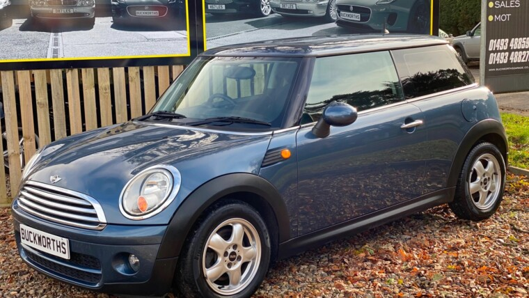 MINI HATCH 2009 1.6 Cooper D 3dr