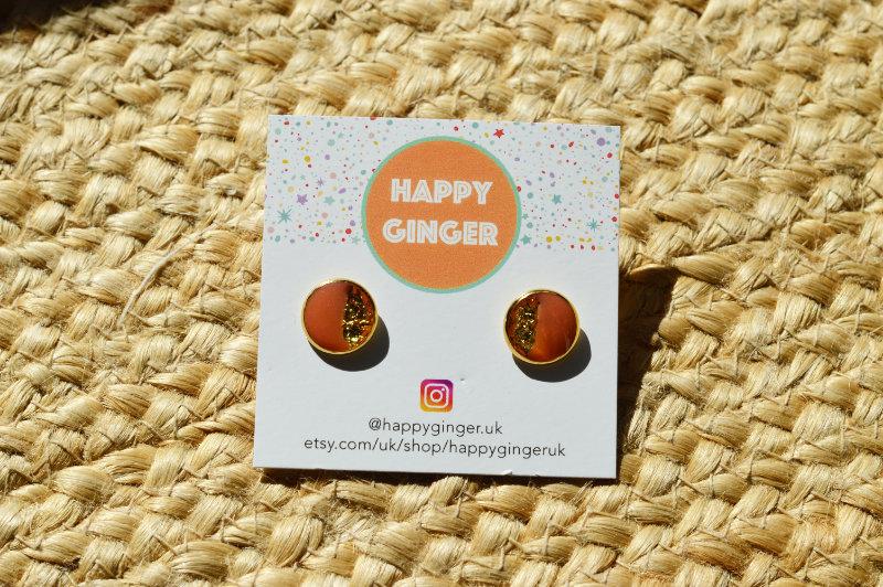 Happy Ginger earrings