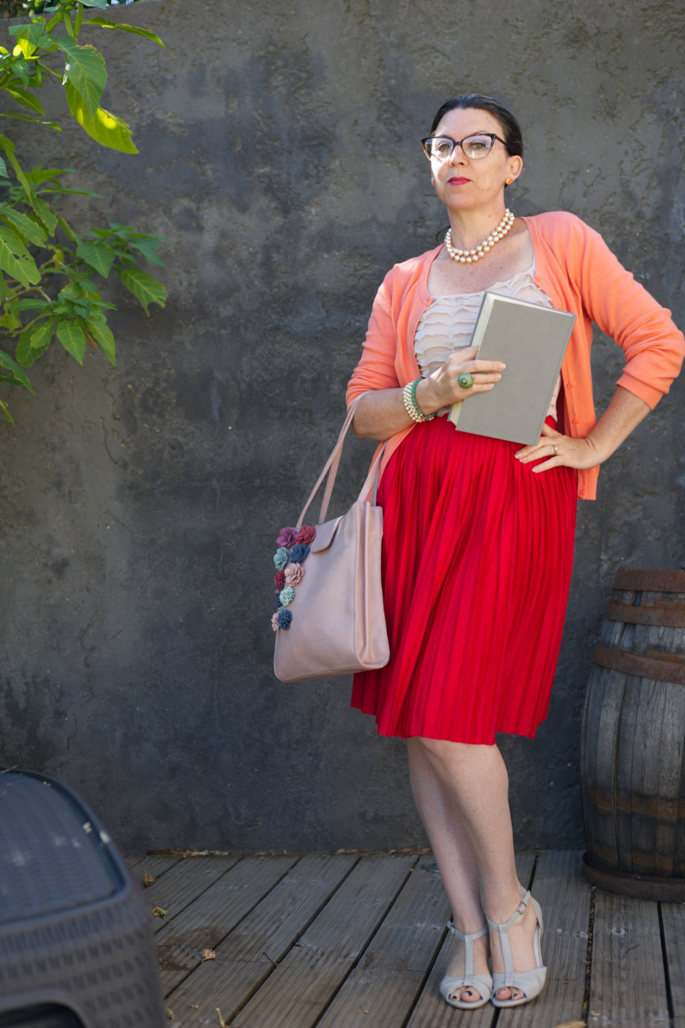 outfit inspired by Booky by Patty Carroll