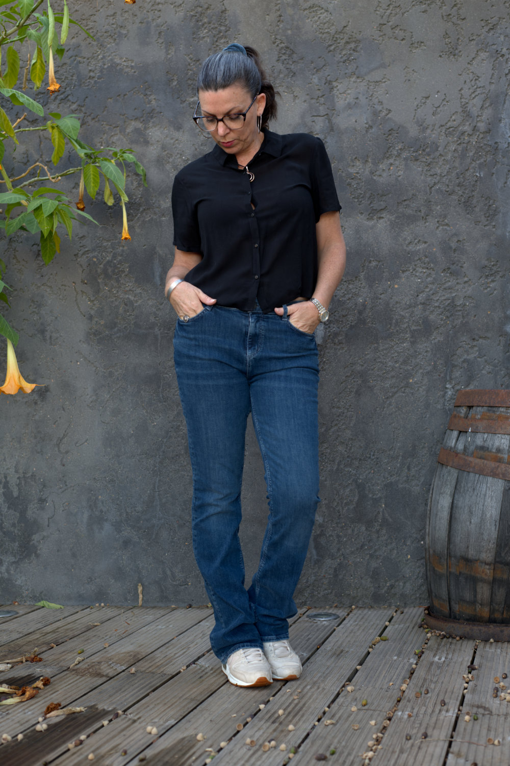 new bootcut jeans