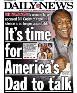 americas dad - couverture new york daily news