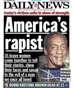 Couverture du New York Daily News - 2015